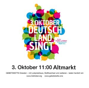 Dresden singt Altmarkt