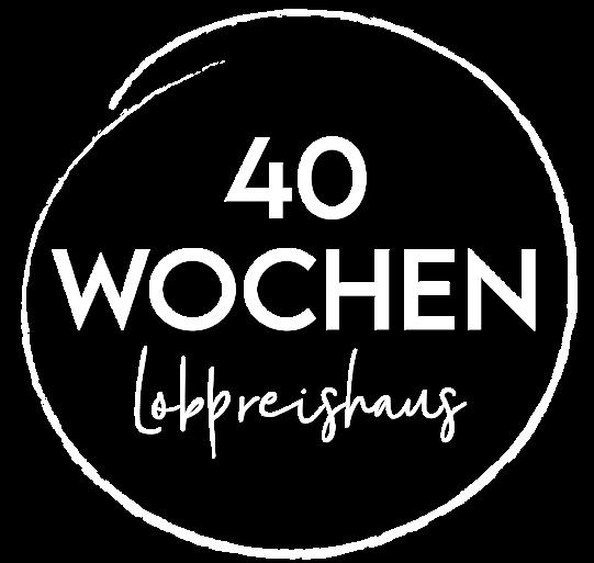 Logo 40 Wochen Lobpreishaus